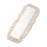 "Dust Mop Refill 24"" x 5"" White"