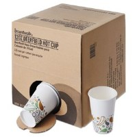 Paper Hot Cups Disp Pack 12oz