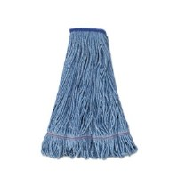 Looped Mop Medium Blue 1""
