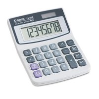 LS82Z Minidesk Calculator 8-Digit LCD
