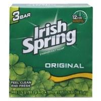 Irish Spring Bar Soap 3.75(18)