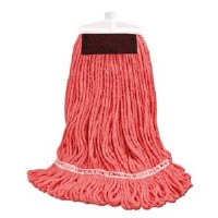 GreaseBeater Red Mop Large