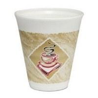 Dart Cafe G 12oz Foam Cup 1000