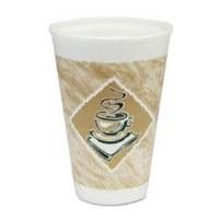 Dart Cafe G 16oz Foam Cup 1000