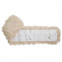 "Dust Mop Refill 18"" x 5"" White"