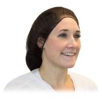 Bouffant 21' Brown Hair Net (1000)