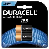 Duracell Lithiim Battery 123
