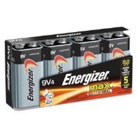 Energizer 9V Batteries (4)