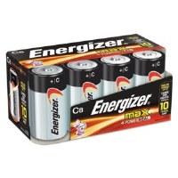 Energizer C Batteries (8)