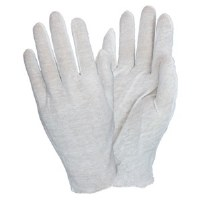 Mens Cotton Inspection Gloves (doz)
