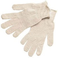Mens String Knit Light Weight Gloves