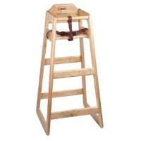 High Chair Pub Height Wood