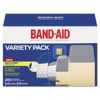 Sheer Wet Adhesive Bandages Assorted Sizes (280)