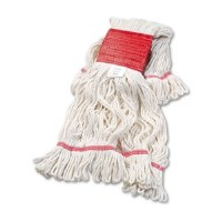 Looped Extra-Large White Mops (12)
