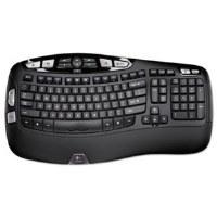 Keyboard K350 Wireless Black