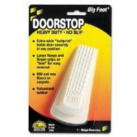 Doorstop Big Foot White