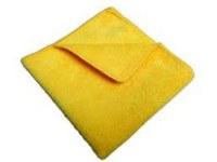 Microfiber Cloth 16x16 Yellow