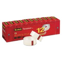 Scotch Transparent Tape (12)