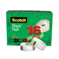 Scotch Magic Tape Value Pk(16)