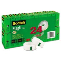 Scotch Magic Tape Value Pk(24)