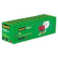 Scotch Magic Tape Value Pk(10)