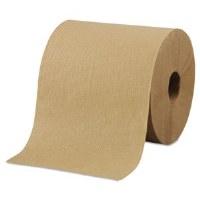 "Hardwound Brown Roll Towels 10""x800' (6)"