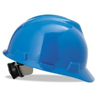 Hard Hat V-Gard Blue (6.5-8)