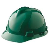 Hard Hat V-Gard Green (6.5-8)