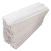 White C-Fold Towel NOVA