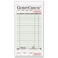 Guest Check Pad 1-Part (50)