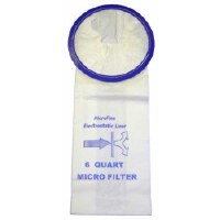 6 qt. Backpack Paper Filter Bags