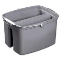 Double Pail 17qt Gray Bucket