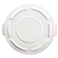 Rubbermaid Brute Flat Lid 20gl White