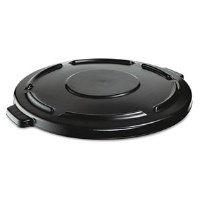 Rubbermaid Brute Flat Lid 44gl Black