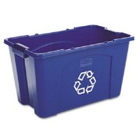 Recycle Bin Blue 14 Gallon