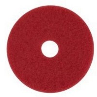 "Floor Pads 10"" Red Clean"