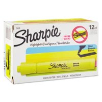 Sharpie Highlighter Yellow (6)