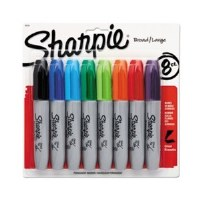 Sharpie Chisel Tip Markers (8)