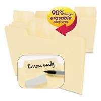 Erasable SuperTab File Folders
