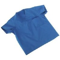 Scrub Shirts XL Blue Poly (50)