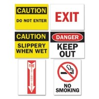Magneto Safety Sign Inserts (12)