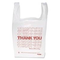 T-Shirt Bags White 12mic (900)