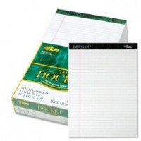 Docket Ruled Perforated Pad