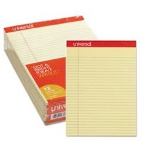Perforated Ruled Canary Pads