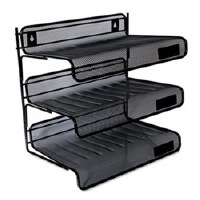 Desk Shelf Mesh 3-Tier