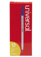Ballpoint Stick Pen Blue (12)