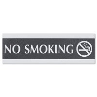 "Sign ""No Smoking"" 9""x3"""