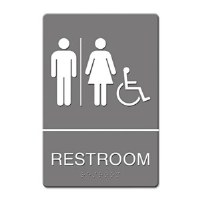 ADA Sign Restroom Handicap