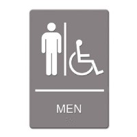 ADA Sign Men Handicap