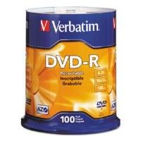DVD-R Verbatim Discs (100)
